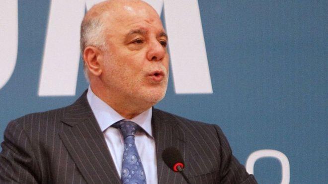 Irak Başbakanı İbadi: Kerkük'teki Kürt bayrağını indirin