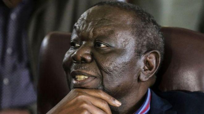 Morgan Tsvangirai. Photo: November 2017