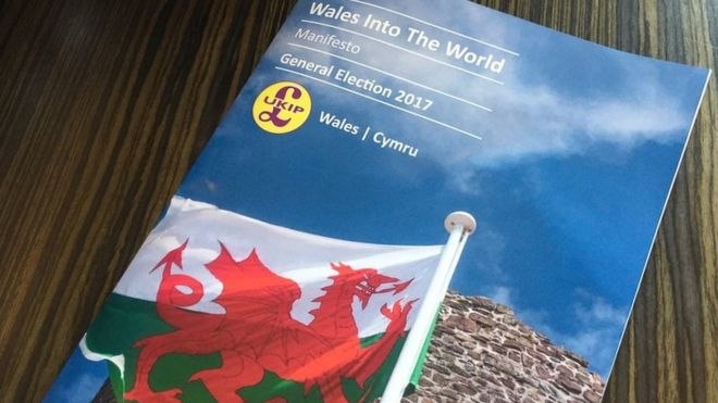 UKIP's Welsh manifesto cover