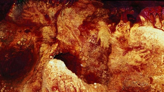 Impresión en una caverna.
