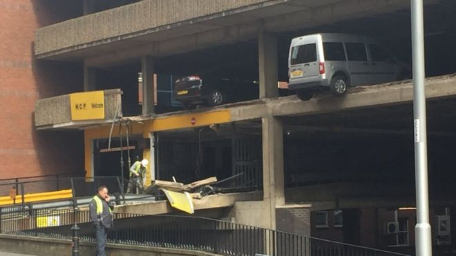 Nottingham NCP Car Park Collapse Prompts Call For Answers