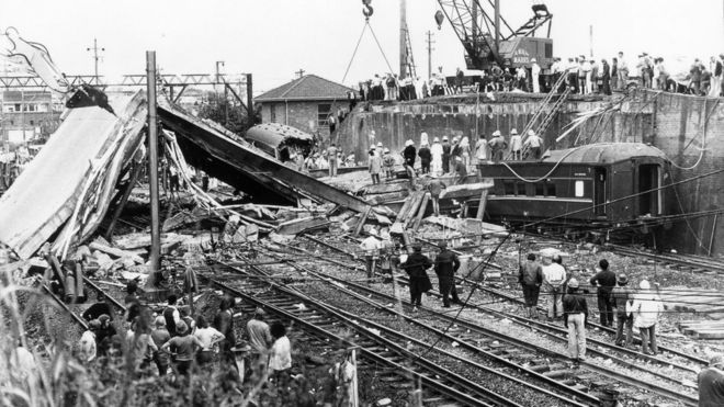 Australia's Granville train disaster killed 83 people in 1977