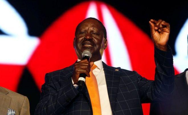 Raila Odinga ajiondoa kwenye uchaguzi mkuu Kenya