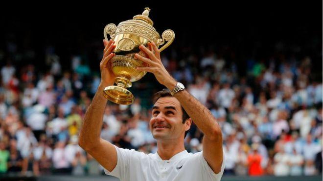 Roger Federer marca otro récord al ganar su octavo Wimbledon