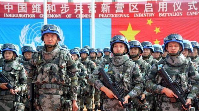 中國在南蘇丹的維和部隊