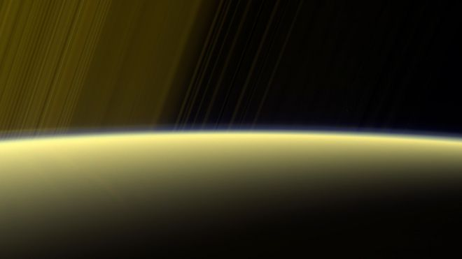 Saturn atmosphere