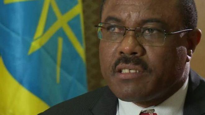 Waziri mkuu nchini Ethiopia Hailemariam Desalegn