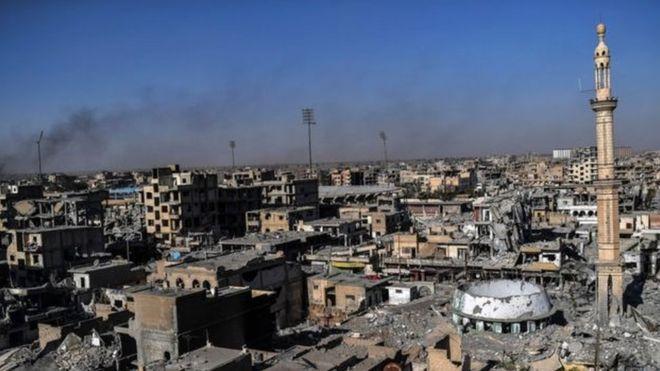 Mji wa Raqqa nchini Syria wakombolewa