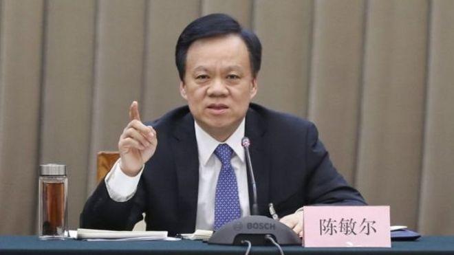 政治新星陳敏爾