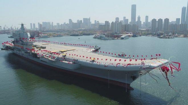 中国国产航母下水 真实力还是摆样子?