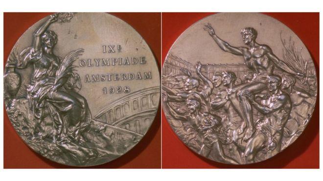 1928 medalla olímpica