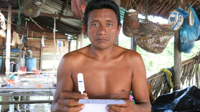 99548799 warao - A tribo indígena que está sendo dizimada por uma epidemia de HIV