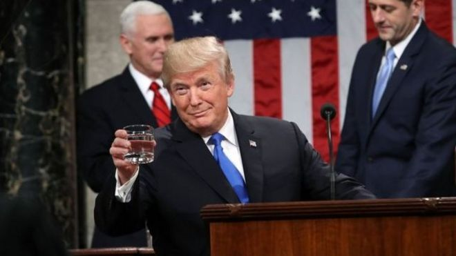 Trump, Hoa Kỳ