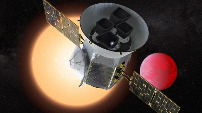 ماهواره پیشرفته کشف سیارات بیرونی پرتاب شد