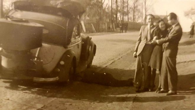 Lale e Gita Sokolov, nos anos 1940