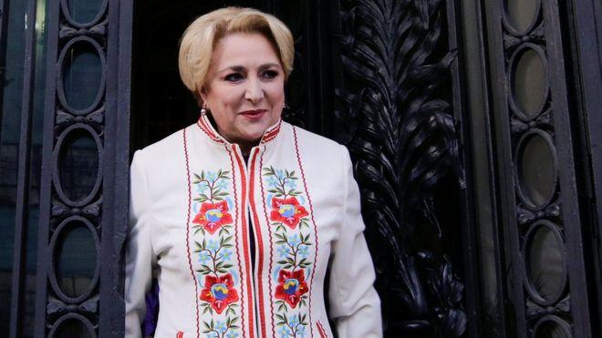 Romania's prime minister designate Viorica Dancila in Bucharest, Romania, January 16, 2018