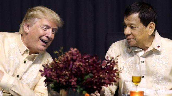 Trump, Duterte, ASEAN