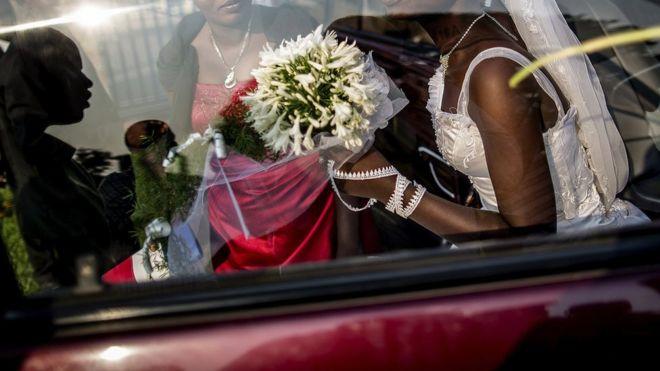 File image of wedding in 2015 in 2015 in Bujumbura