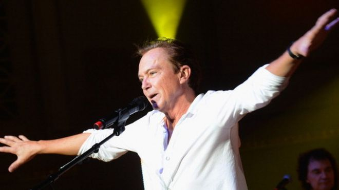 David Cassidy performs in Nashville, Tennessee (09 October 2012)