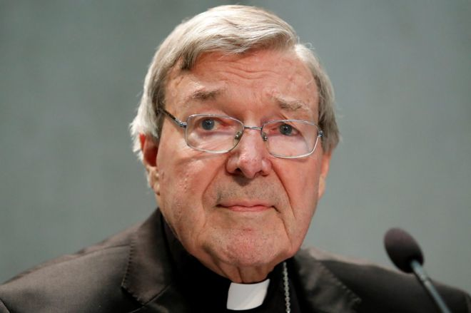 Cardinal George Pell arrives in Sydney ahead of court appearance on sex abuse charges