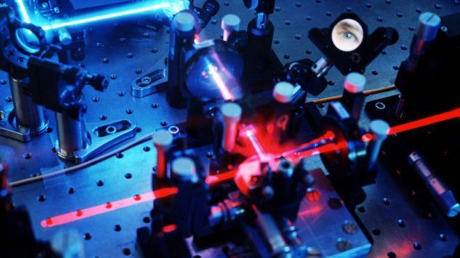 维也纳的量子实验设备