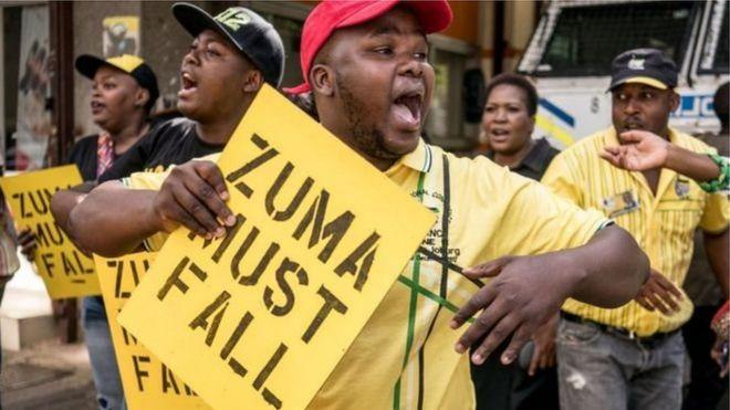 Wanachama wa ANC waliogawanyika