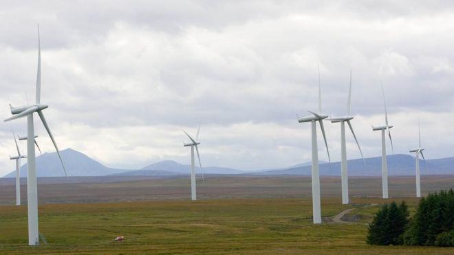 Trạm điện gió ở Scotland