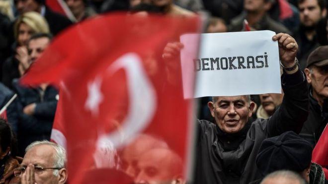 HRW: Türkiye'de medya, aktivistler, muhalefet hedef alınıyor