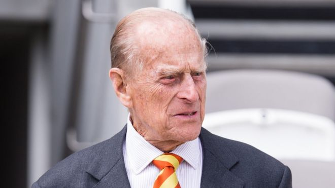 Prince Philip on 3 May