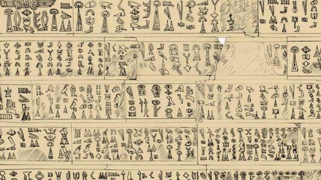Afyonkarahisar'da bulunan yazıt 3 bin 200 yıllık sırrı çözdü (12 Ekim-BBC)