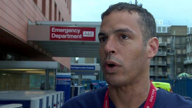 Dr Malik Ramadhan, divisional director of emergency care and trauma at the Royal London Hospital