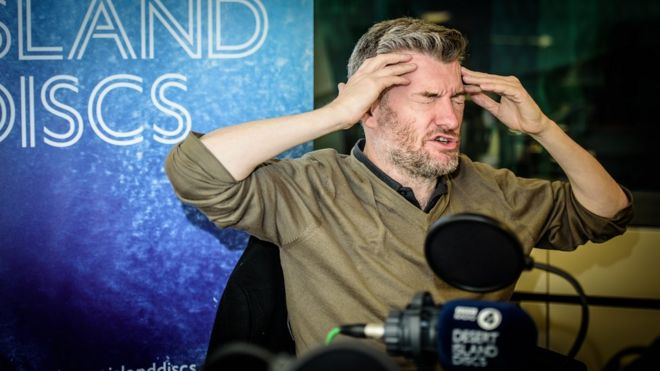 Image result for desert island discs charlie brooker