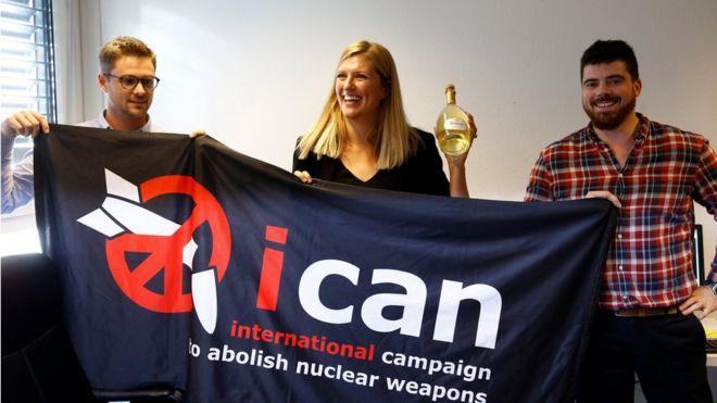 Премию мира дали Международной кампании за уничтожение ядерного оружия