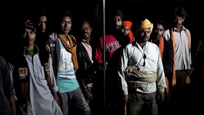 Cow vigilantes in India