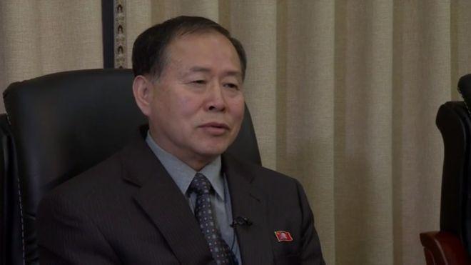 Thứ trưởng Ngoại giao Han Song-ryol