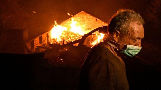 مرگ ده ها نفر در آتشسوزی های پرتغال و اسپانیا
