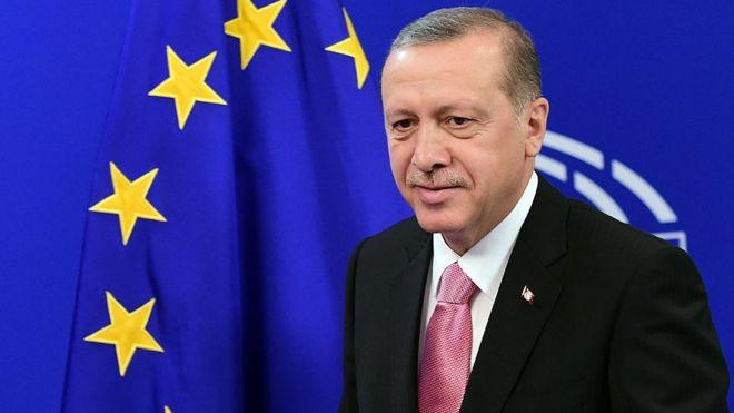 Erdoğan La Stampa'ya konuştu: AB'ye tam üyelik istiyoruz(5 Şubat2018)