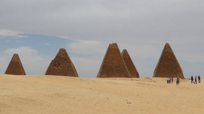Pyramids in Kush
