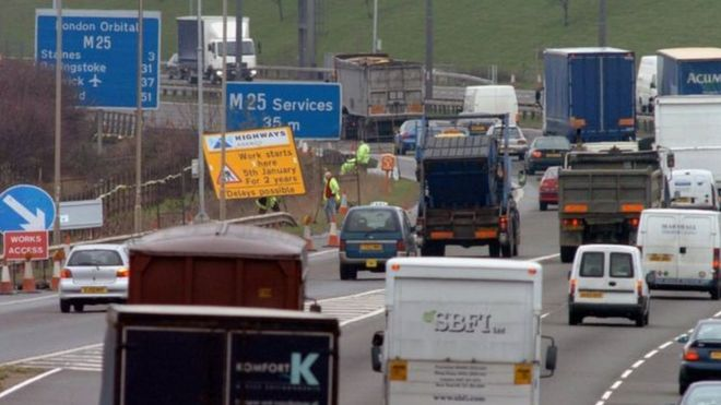 Motorway roadworks speed limit could be increased.....