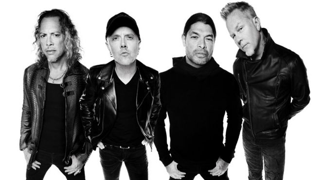 Metallica press shot