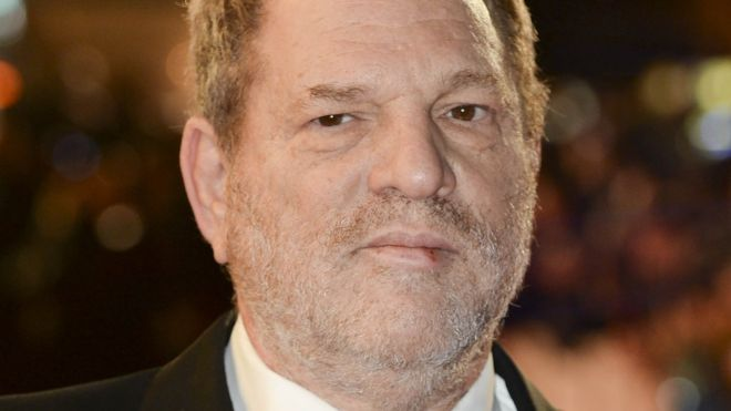 Harvey Weinstein, 2 February 2018