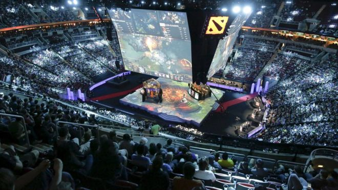 dota 2 chat forum hit by hack attack bbc news