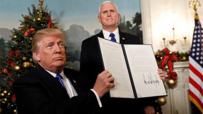 O que está por trás da polêmica decisão de Trump sobre Jerusalém