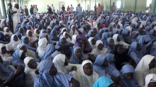 Wasichana wa Chibok waliotekwa na Boko Haram
