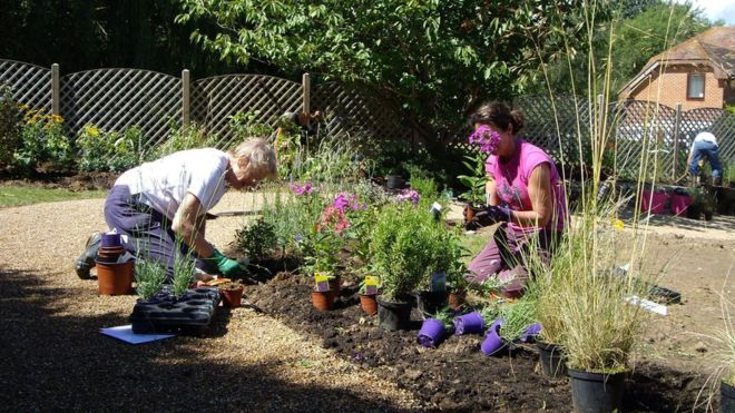 Lottery Funds Dementia Care Home Gardens - Bbc News