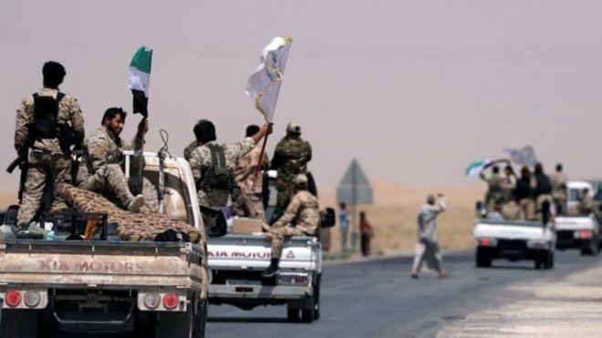 داعش 'از هشتاد درصد رقه بیرون رانده شده'
