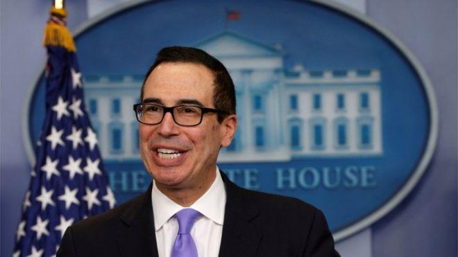 Bộ trưởng Ngân khố Mỹ Steven Mnuchin