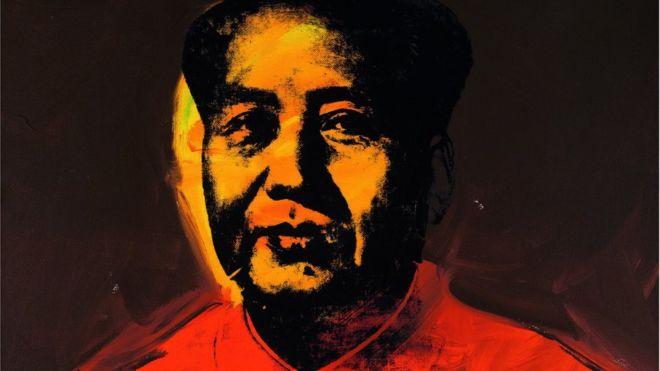 安迪·沃霍爾的《毛主席》