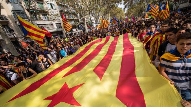 Объявление независимости Каталонии отложено