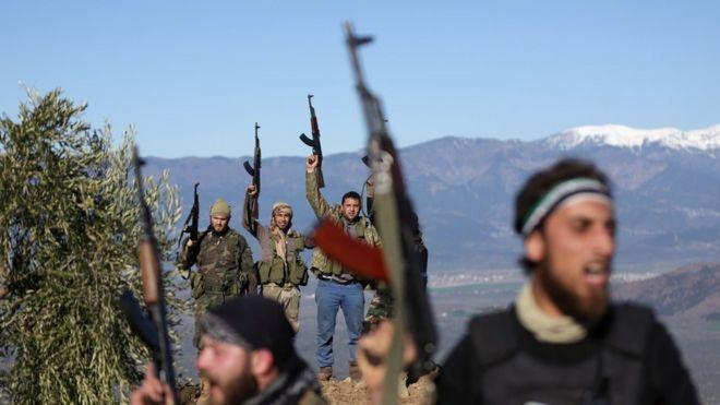 Afrin'de potansiyel riskler gerçeğe dönüşüyor (21 Şubat 2018)